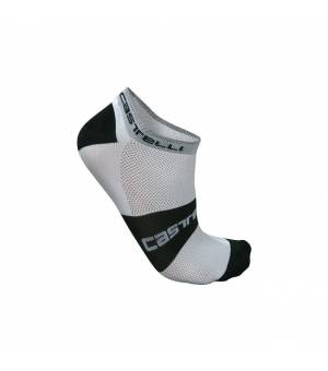 Castelli Lowboy Sock White/Black ponožky
