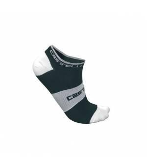 Castelli Lowboy Sock Black/White ponožky