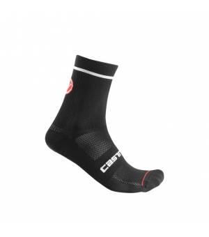 Castelli Entrata Sock 9 Black ponožky