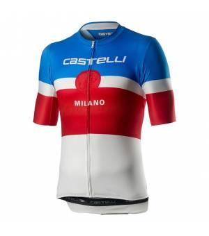 Castelli Milano M Jersey White cyklo dres