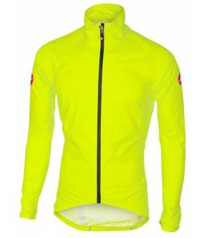 Castelli Emergency Rain M Jacket Yellow Fluo bunda