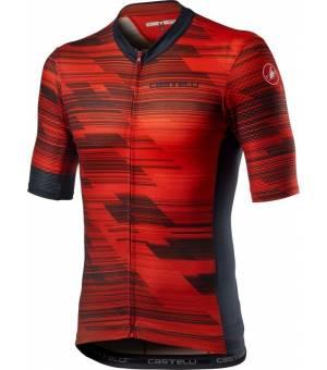 Castelli Rapido Jersey M Red cyklodres