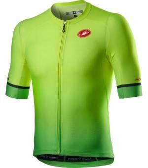 Castelli Aero Race 6-0 Jersey M yellow fluo/green fluo cyklodres