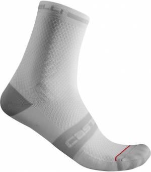 Castelli Superleggera T 12 M White cyklistické ponožky