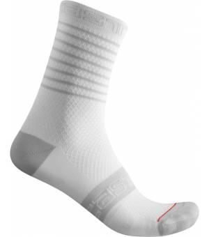 Castelli Superleggera W 12 White cyklistické ponožky