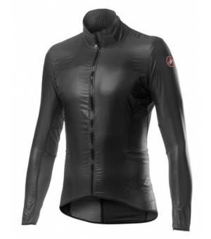 Castelli Aria Shell M Jacket Dark Grey bunda