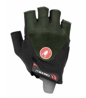 Castelli Arenberg Gel 2 M Military Green cyklistické rukavice