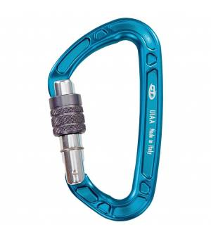 Climbing Technology Aerial Pro SG light blue/silver/grey karabína