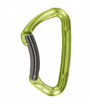 Climbing Technology Lime B green/grey karabína