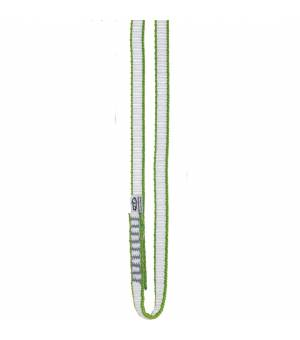 Climbing Technology Looper DY 120cm white/green slučka