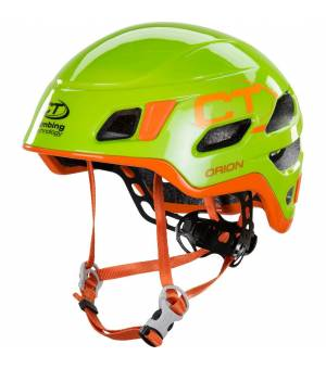 Climbing Technology Orion green/orange prilba