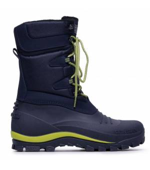 CMP Nietos Snow Boots Black Blue Energy Obuv