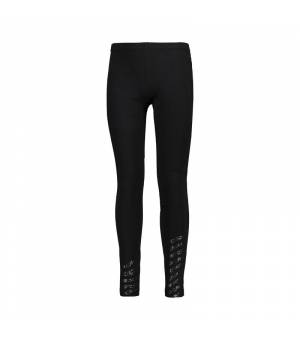 CMP Kid G Long Leggins Nero Legíny