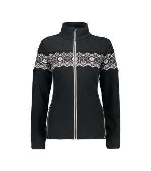 CMP Woman Jacket Nero Mikina