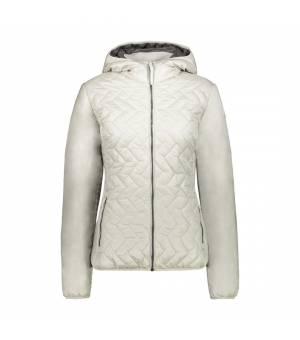 CMP Woman Jacket Fix Hood Gesso Bunda
