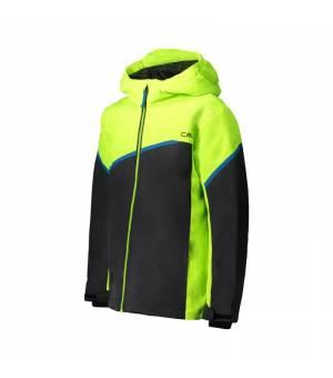 CMP Kid Set Jacket+Pant Yellow Fluo Komplet