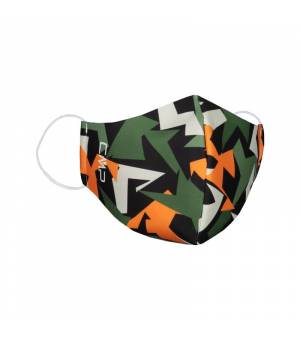 CMP Kids Mask Nero Arancia detské rúško