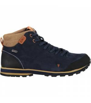 CMP Elettra Mid Hiking Shoes Wp Black Blue Obuv