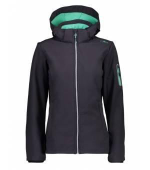 CMP Woman Jacket Zip Hood bunda 00UC Sivá