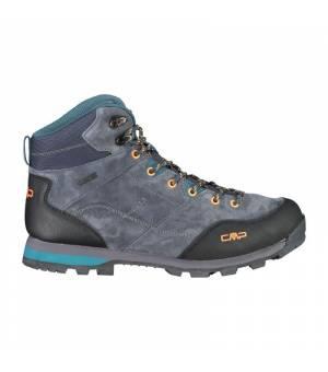 CMP Alcor Mid Trekking Shoe WP Antracite Petrol Obuv