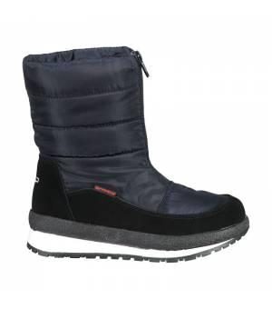 CMP Kids Rae Snow Boots WP Black Blue Obuv