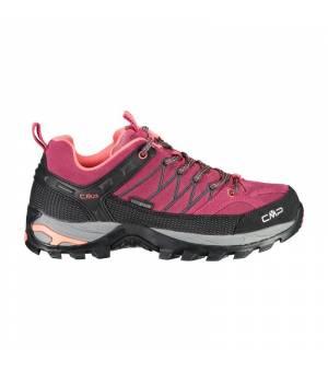 CMP Rigel Low WMN Trekking Shoes WP Magenta Antracite Obuv