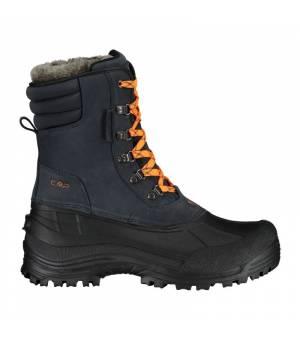 CMP Kinos Snow Boots WP Antracite Orange Fluo Obuv