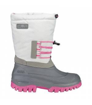CMP Kids Ahto WP Snow Boots Ghiaccio Pink Obuv