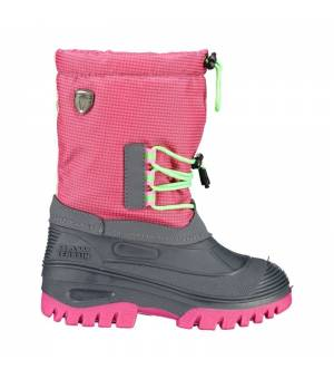 CMP Kids Ahto WP Snow Boots Pink Fluo Obuv