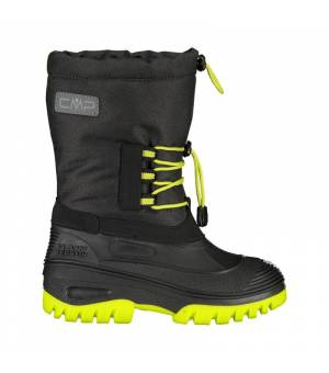 CMP Kids Ahto WP Snow Boots Nero Yellow Obuv