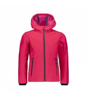 CMP Girl Jacket Fix Hood bunda 19UD ružová
