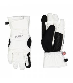 CMP Woman Ski Gloves Bianco Rukavice