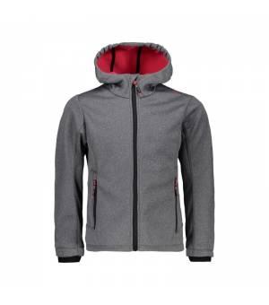CMP Girl Jacket Fix Hood bunda 61UD sivá