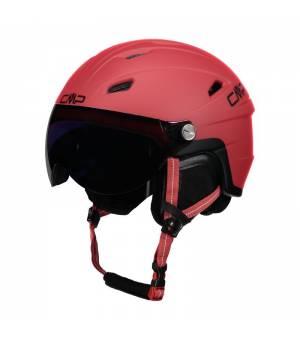 CMP Wa-2 Ski Helmet With Visor Ferrari Prilba