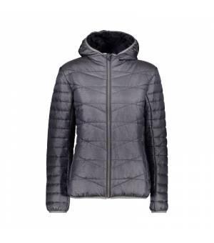 CMP Woman Jacket Fix Hood bunda U890 sivá