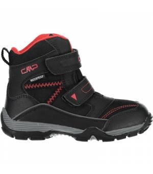 CMP Kids Pyry Snow Boot WP Nero Obuv