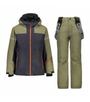 CMP Boy Set Jacket+Pant Antracite Komplet