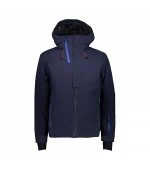 CMP Bunda Man Mid Jacket Fix Hood N950 modrá