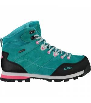 CMP Alcor Mid WMN Trekking Shoe WP E813 tyrkysové