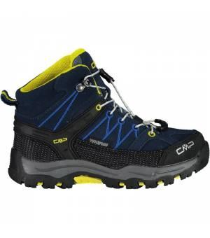 CMP Kids Rigel Mid Trekking Shoe WP 08NE modré