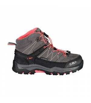 CMP Kids Rigel Mid Trekking Shoe WP 46AK sivé