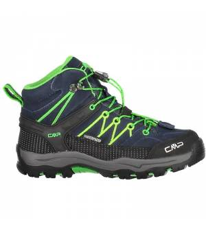 CMP Kids Rigel Mid Trekking Shoe WP 51AK modré