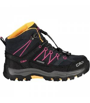 CMP Kids Rigel Mid Trekking Shoe WP 54UE čierne