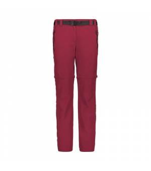 CMP Woman Pant Zip Off nohavice H807 ružové