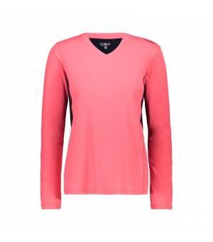 CMP Woman T-Shirt tričko B357 ružové