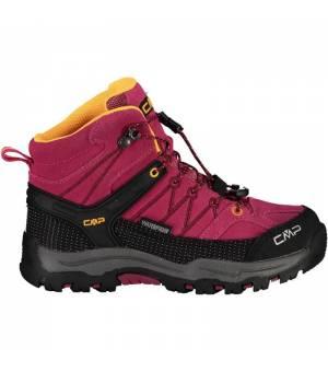 CMP Kids Rigel J Mid Trekking Shoe WP 06HE ružové