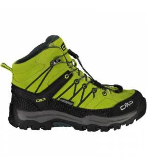 CMP Kids Rigel J Mid Trekking Shoe WP 33EE zelené