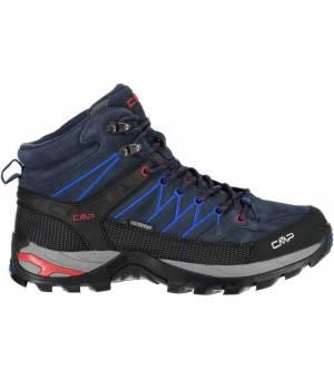 CMP Rigel Mid Trekking Shoe WP 10NC modré
