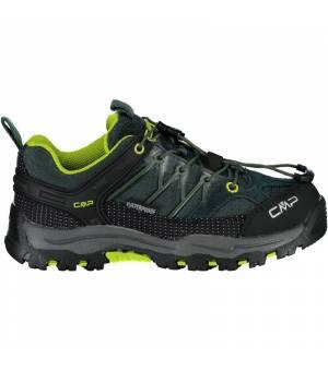 CMP Kids Rigel J Low Trekking Shoe WP 57UE zelené