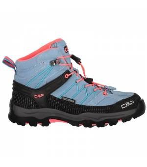CMP Kids Rigel Mid Trekking Shoe WP 89BD modré